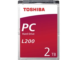 Toshiba L200 (2TB) 5400rpm SATA 3.0Gb/s Mobile Hard Drive (Internal) Bulk