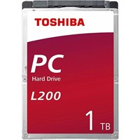 Toshiba L200 (1TB) 5400rpm SATA 6.0Gb/s Slim Internal Hard Drive (Bulk)