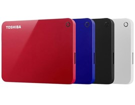 Toshiba Canvio Advance (2TB) 2.5 inch USB 3.0 External Hard Drive (Blue)