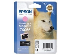 Epson T0966 Light Vivid Magenta Ink Cartridge