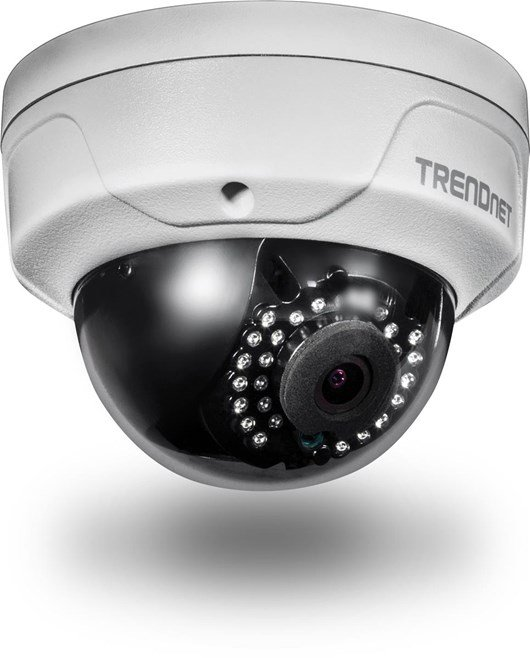 TRENDnet TV-IP315PI (4MP) Network Camera Full HD PoE Dome Day/Night Indoor/Outdoor (Silver) V1.0R
