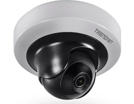TRENDnet (2MP) IR Mini Network Camera 1080p WDR Pan/Tilt PoE Indoor Day/Night (Silver) V1.0R