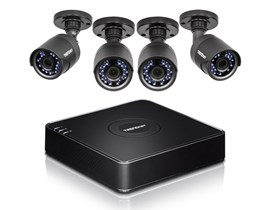 TRENDnet 4-Channel HD CCTV DVR Surveillance Kit (Black) Version v1.0R