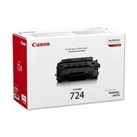 Canon 724 (Yield: 6,000 Pages) Black Toner Cartridge