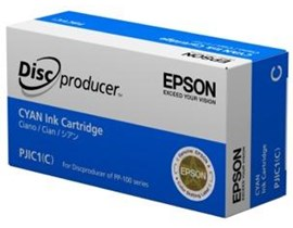 Epson PJIC1 Ink Cartridge (Cyan) for PP-100 Series Discproducer