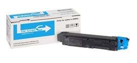 Kyocera TK-5140 Cyan (Yield 5,000 Pages) Toner Cartridge for ECOSYS M6030cdn, M6530cdn, P6130cdn Printers including Container