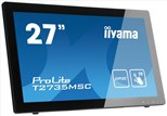 Iiyama ProLite T2735MSC-B2 (27 inch Multitouch) LED Backlit LCD Monitor 3000:1 255cd/m2 (1920x1080) 5ms VGA/DVI/HDMI/USB (Black)