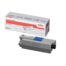 OKI Toner Cartridge (Black) for C310/C330/C510/C511/C530/C531/MC351/MC352/MC361/MC362/MC561/MC562 Colour Printers (Yield 3,500 Pages)