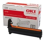 OKI Black (Yield 20,000 Pages) Image Drum for C710 A4 Colour Printers