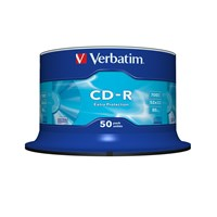 Verbatim CD-R Extra Protection 700MB 52x 80 Minute