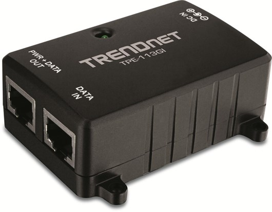 TRENDnet TPE-113GI Gigabit Power over Ethernet (PoE) Injector (V1.0R)