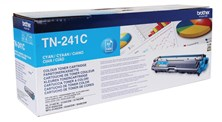 Brother TN-241C (Yield 1,400 Pages) Toner Cartridge (Cyan)