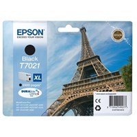 Epson T7021 (Yield 2,400 Pages) Black High Capacity Ink Cartridge