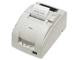 Epson TM-U220B Impact Dot Matrix Receipt Printer 4.70lps (40 Columns, 16.00cpi) USB Cutter Power Supply (Cool White)