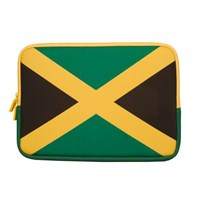 Urban Factory Neopren Flag Sleeve (Jamaica) for 11.6 to 12 inch Laptops