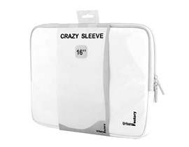 Urban Factory Crazy Sleeve Vinyl (White) for 16 inch Laptops