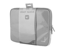 Urban Factory Crazy Sleeve Vinyl (Grey) for 16 inch Laptops