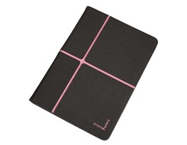 Urban Factory Universal Folio Case (Dark Grey/Pink) for 10 inch Tablets