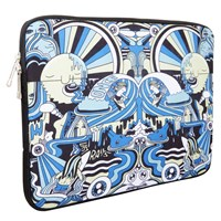Urban Factory Sleeve Case (Seaside Spirit) for 14.1inch Notebooks