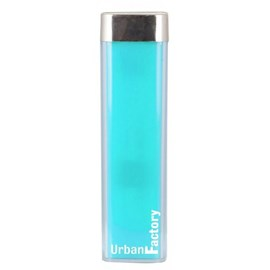 Urban Factory Lipstick (2600mAh) Portable Battery Charger (Blue Lagoon)
