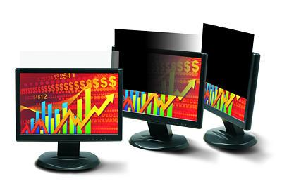 "PF270W1B New 27"" Monitor Privacy Screen Filter Widescreen 16:10 Black"