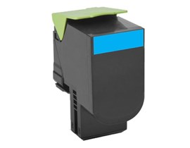 Lexmark Return Program 802C (Yield: 1,000 Pages) Cyan Toner Cartridge