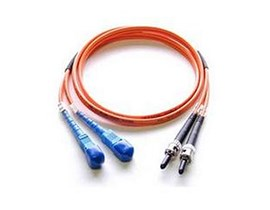 StarTech.com Multimode Duplex Fiber Optic Cable ST-SC (2m)