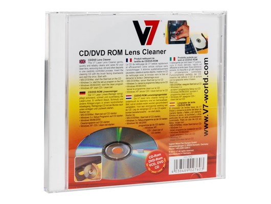 V7 CD DVD Lens Cleaner