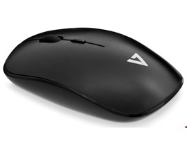 V7 2.4GHz Wireless Optical Mouse with Battery Included (Black)