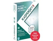 Kaspersky PURE 3.0 Total Security Software 1 year 3 User (DVD)