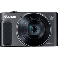 Canon PowerShot SX620 HS (21.1MP) Digital Camera 25x Optical Zoom 3.0 inch LCD Screen with WiFi (Black)