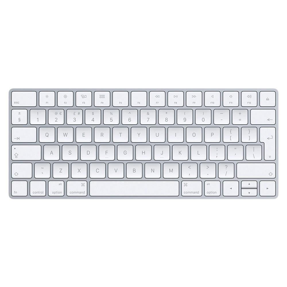Apple Magic Wireless Keyboard Silver British English