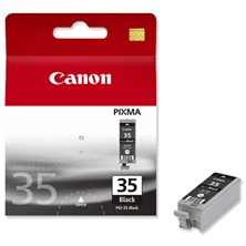Canon PGI-35BK (Black) Ink Cartridge (Yield 191 Pages)