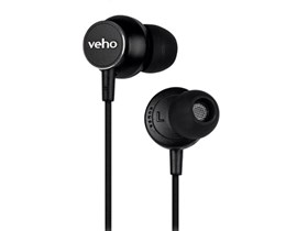 Veho Z-3 In-Ear Stereo Headphones with Built-in Microphone and Remote Control