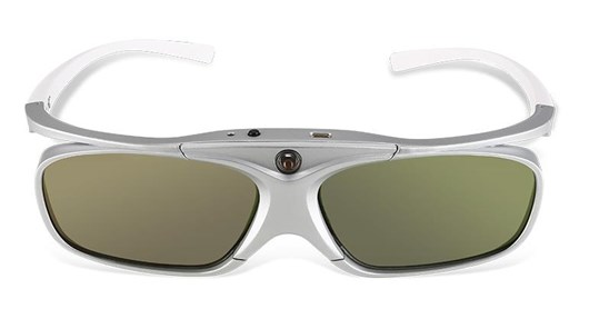 Acer E4W 3D Glasses Active Shutter (White/Silver) for DLP Projectors