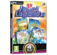 4 Play: Jewel Legends (Farm Quest,Jewel Venture,Yeti Quest,Safari Quest) for PC (DVD)