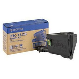 Kyocera TK-1125 Black Toner Cartridge (Yield 2,100 Pages) for Kyocera FS-1061DN, FS-1325 MFP