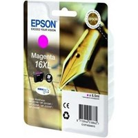 Epson Pen and Crossword 16XL (Yield 450 pages) Magenta 6.5ml Ink Cartridge