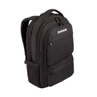 Wenger Fuse Polyester Backpack (Black) for 15.6 inch Laptops