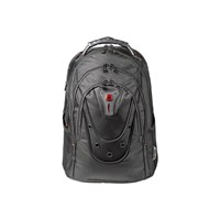Wenger Ibex Polyester Backpack (Black) for 17 inch Laptops
