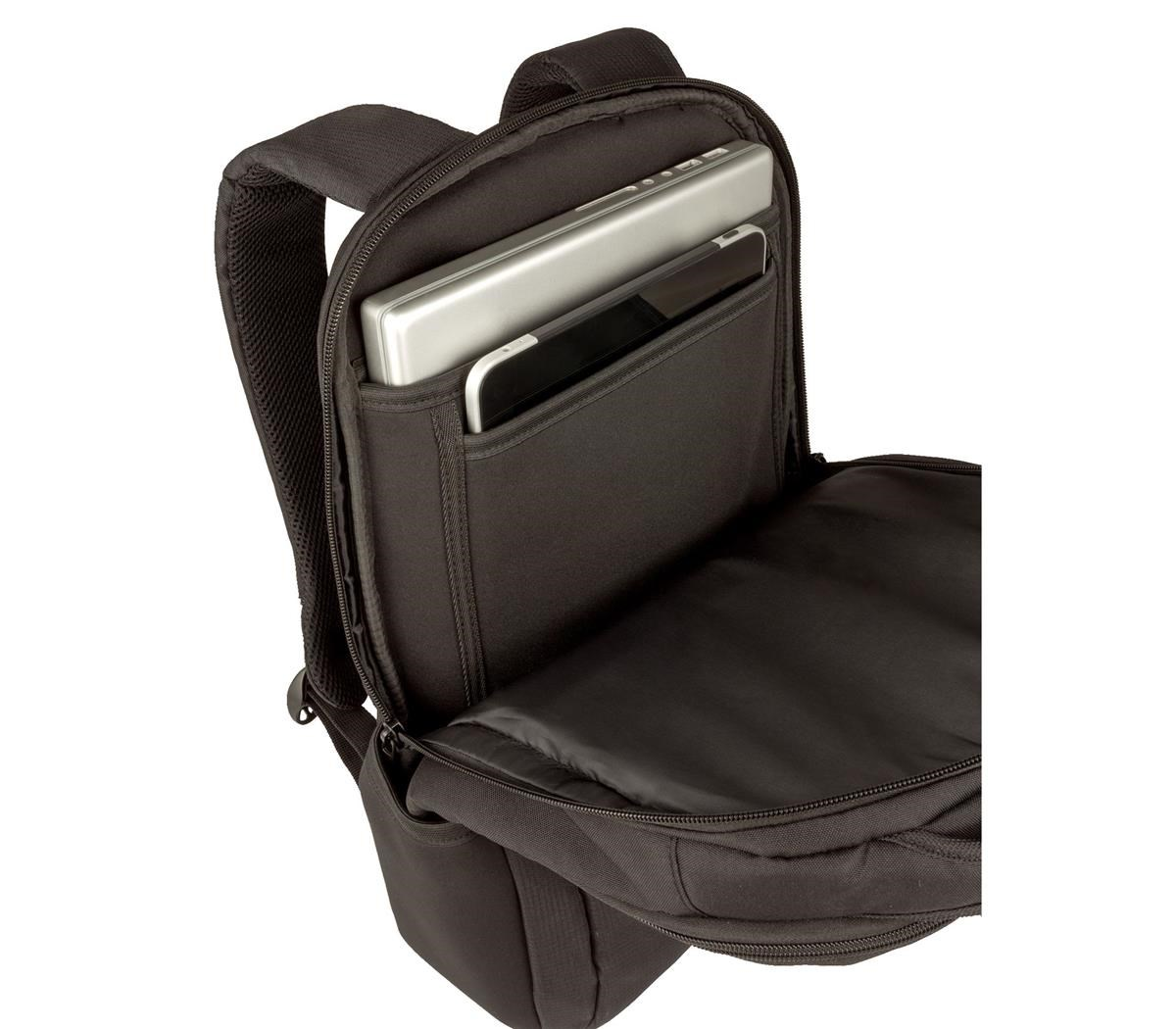 6a534179cccbe Wenger Fuse Polyester Backpack (Black) for 15.6 inch Laptops ...