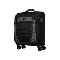 Wenger Expandable Carry-On Case (Black/Grey)