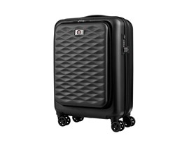 Wenger Lumen Polycarbonate Carry-On Case (Black) for 16 inch Laptops