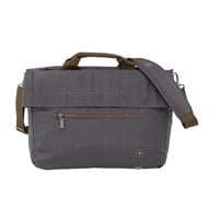 Wenger SunScraper Polyester Briefcase (Alloy) for 16 inch Laptops