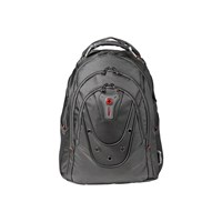 Wenger Ibex Polyester Backpack (Black) for 16 inch Laptops
