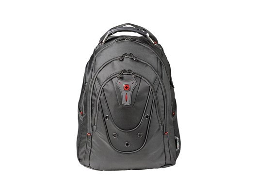 Wenger Ibex 125th Anniversary Polyester Backpack (Black) for 16 inch Laptops