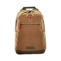 Wenger Arundel Cotton Backpack (Camel) for 16 inch Laptops