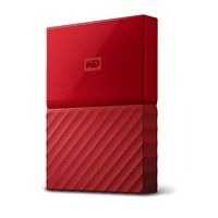 Western Digital My Passport 4TB Mobile External Hard Drive in Red