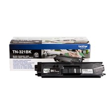 Brother TN-321BK Black Toner Cartridge (2500 Pages)
