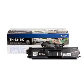 Brother TN-321BK (Yield: 2,500 Pages) Black Toner Cartridge